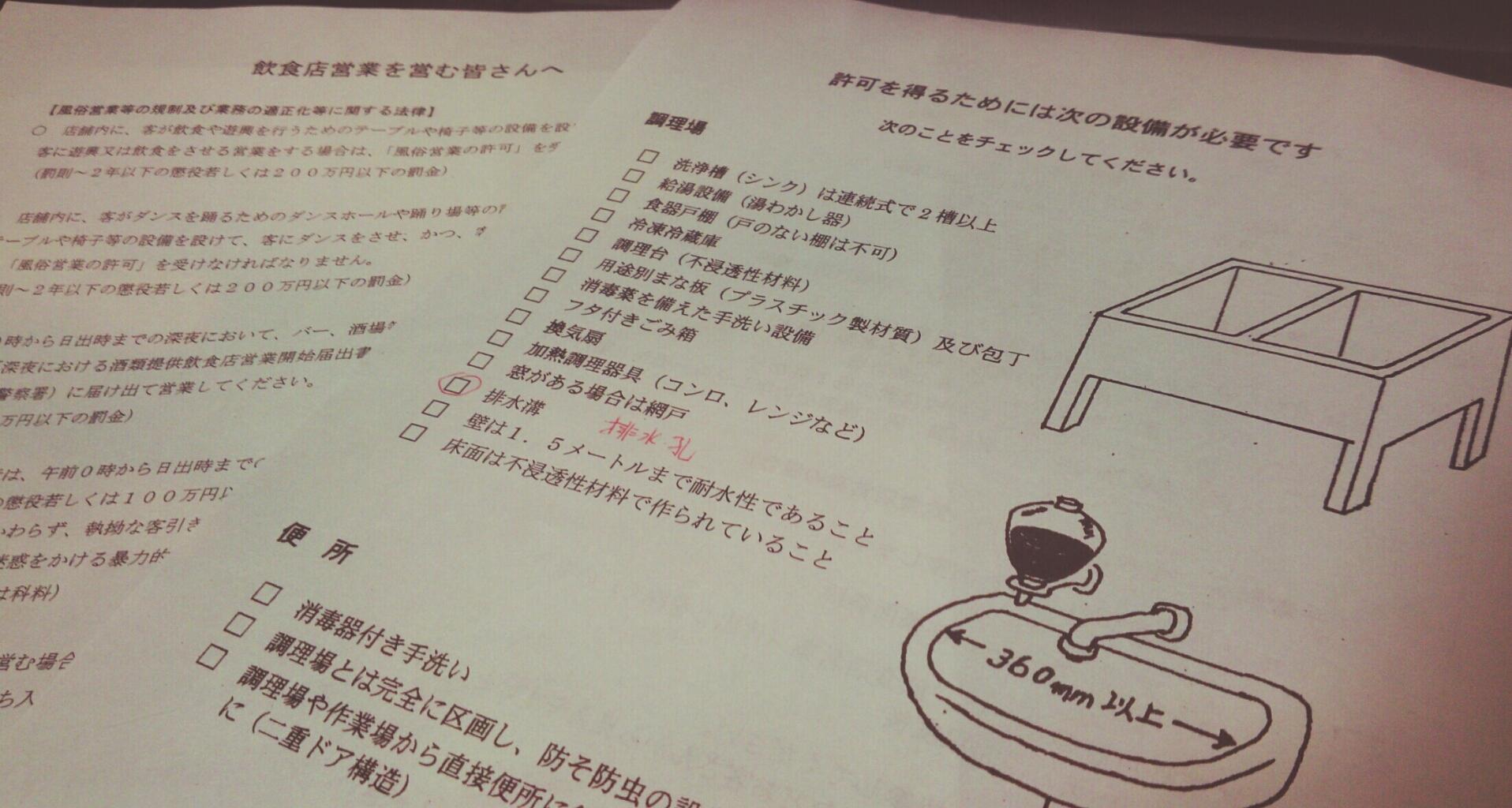 飲食店営業