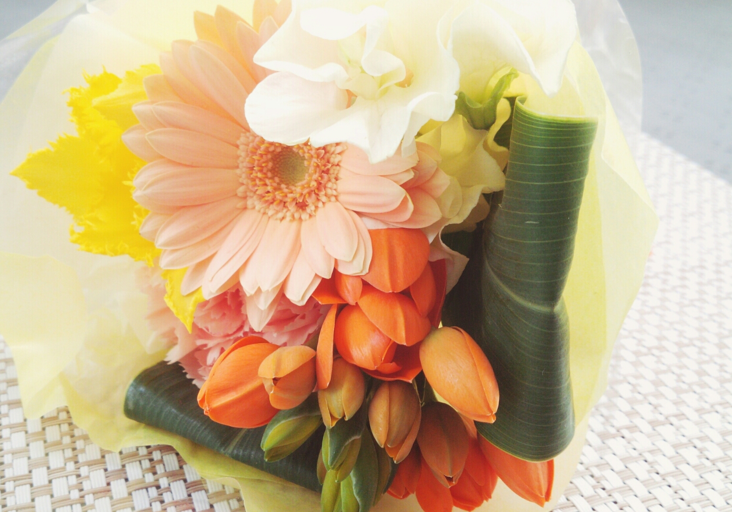 ラッキーなお花