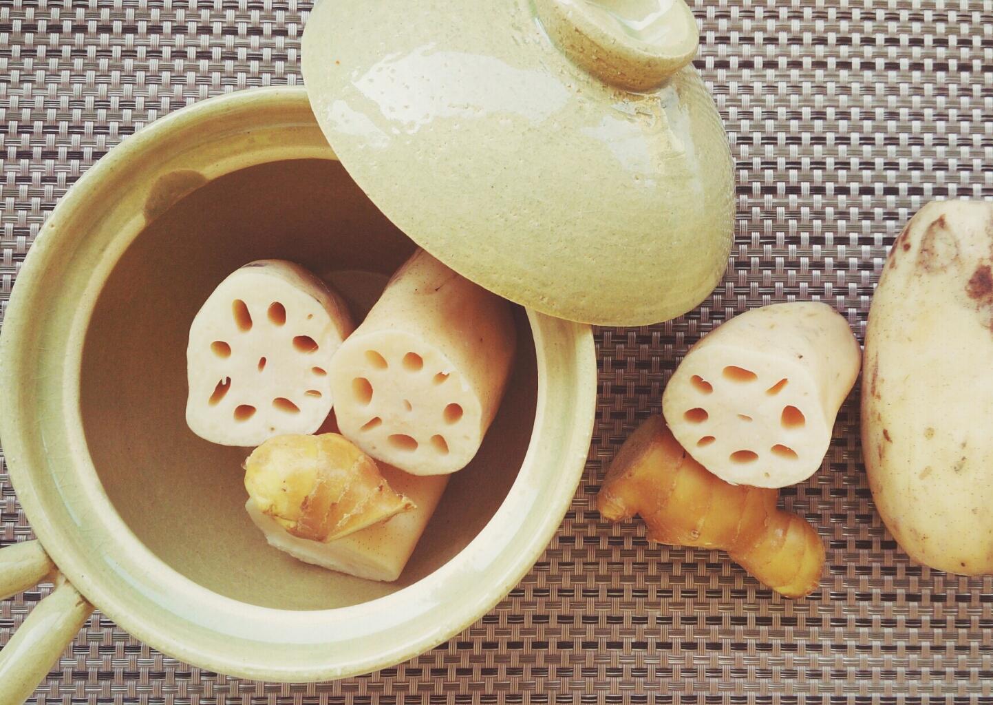 生姜と蓮根