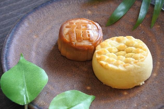ミニ月餅&パイン