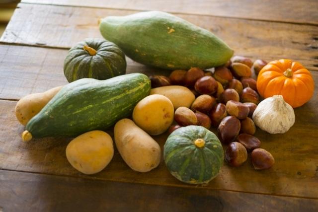 秋野菜画像