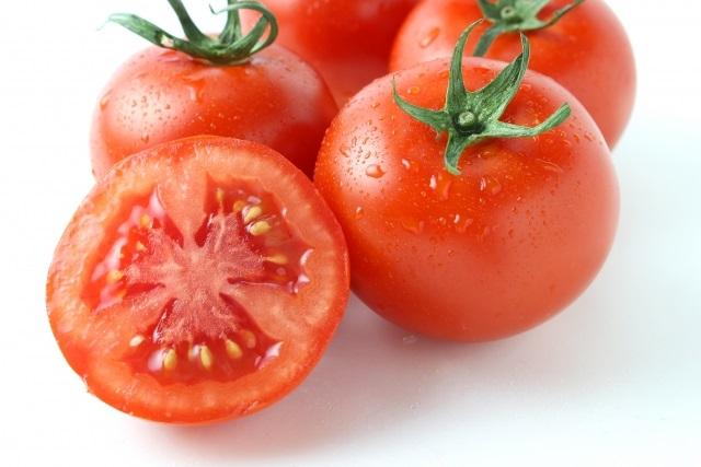 夏の養生 トマト