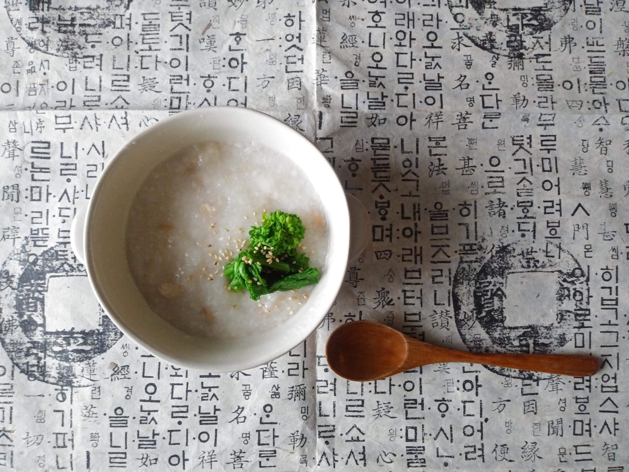 大豆のお粥