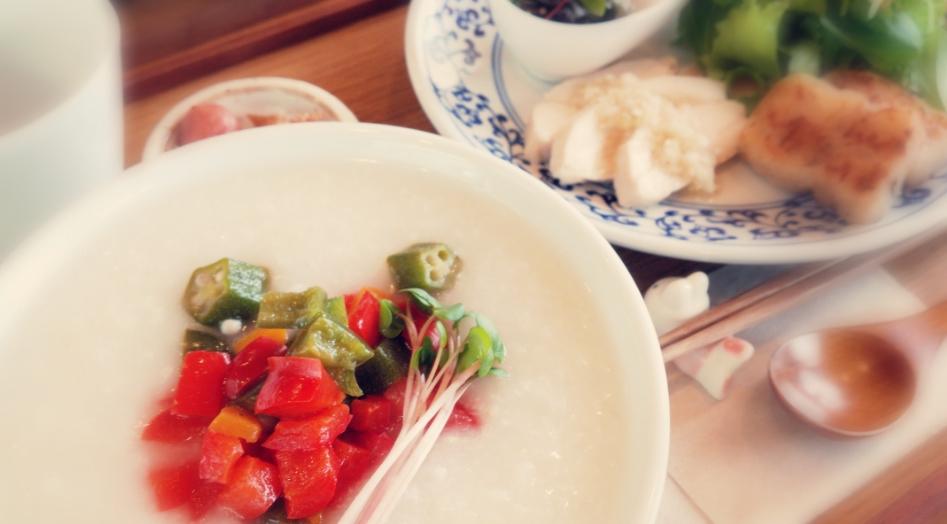 夏野菜のお粥