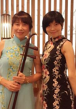 二胡と中国茶イベント