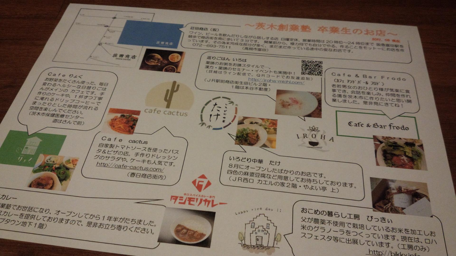 茨木創業塾マップ