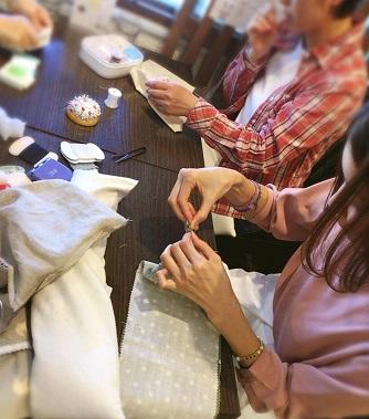 ちくちく手縫い