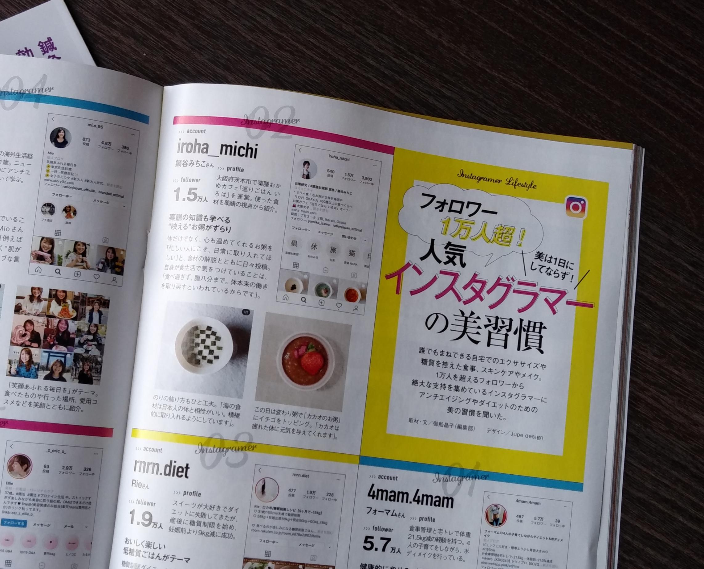 日経ヘルス 取材